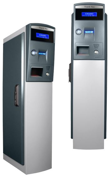 AMG-4570 ExpressParc® Exit Pay Credit Card Station